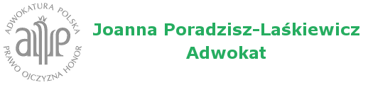 Adwokat Joanna Poradzisz-Laśkiewicz